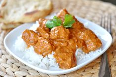 Indian Butter Chicken: Yummy.  Forgot the ginger on accident and made garam masala with a recipe on allrecipes.