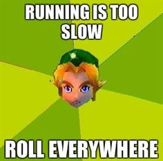 Only way to get around Hyrule.