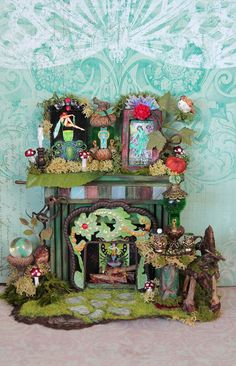 LAYAWAY Available Dollhouse Miniature by 19thDayMiniatures on Etsy, $67.00