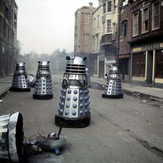 10 best: Dr Who villains: Daleks