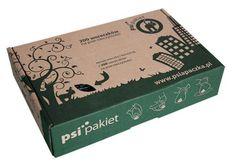 Psia paczka to estetyczne pudełeczko, które zawiera 200 szt. biodegradowalnych woreczków....