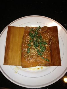 Marinate salmon in Gfree soy sauce, wasabi, lime juice, minced garlic and S&P. Be sure fish is at room temp. Directions are on the cedar paper box for prep, but be sure to soak papers before grilling. For this recipe I soaked them in white wine and rice vinegar.