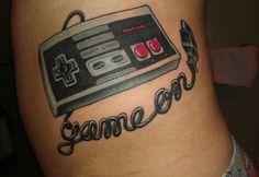 30 tatuagens incríveis inspiradas em games
