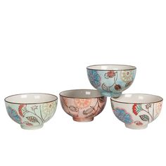 Add color and texture to placesettings and small nooks in the house with these pretty, practical and versatile ceramics.