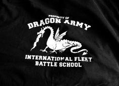 Dragon Army T-Shirt .. Ender's game