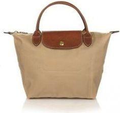 Longchamp Le Pliage Mini Beige/tan Tote Bag $47
