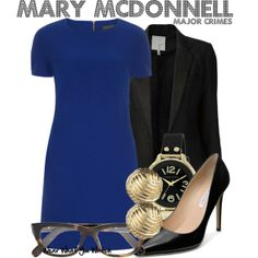 Inspired by Sharon Raydor as Mary McDonnell on Major Crimes.