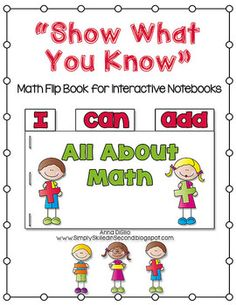 "Free Math Flip Book - ""I Can Add""... Follow for FREE ""too-neat-not-to-keep"" teaching tools & other fun stuff :)"