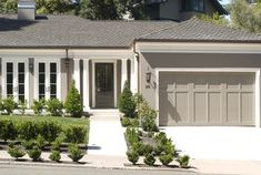 Traditional Exterior by Moraga General Contractors Canyon Construction Functional Gray by Sherwin Williams