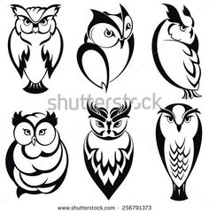 Owl Tattoo Stock Photos, Royalty-Free Images & Vectors - Shutterstock