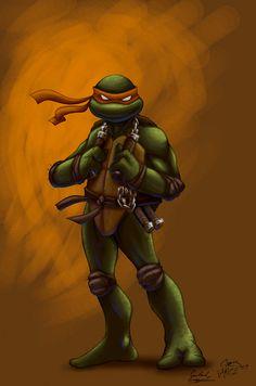 comicninja's Mikey by Ninja-Turtles on DeviantArt