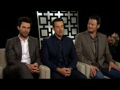 What happens when you put Adam, Blake and Carson together in an interview - 6 minutes of pure gold! #TheVoice