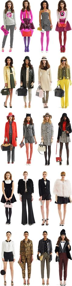 Kate Spade Fall 2013 | Crazy Style Love, via style.com