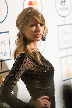 Clive Davis Pre-Grammy Party, I know this happened a few days ago but her hair is beyond gorgeous