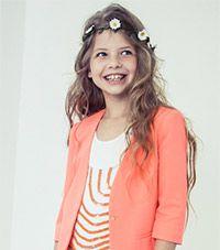 Oranje meisjeskleding voor Kroningsdag vind je op kleertjes.com | kleertjes.com