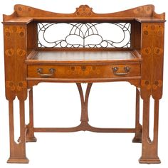 English Arts & Crafts Writing Desk by Shapland & Petter