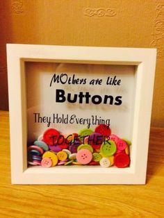 Personalized-Mothers-Mums-Nans-Frame-Perfect-Mothers-Day-Birthday-Gift - Great gifts and trips for girls Diy Gifts For Mom, Mothers Day Crafts For Kids, Diy Mothers Day Gifts, Mothers Day Cards, Mother Day Gifts, Mothers Day Ideas, Mum Gifts, Mothers Day Presents, Gifts For Mums