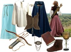 """""""Medieval""""- Polyvore Creation"""