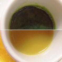 Double trouble! Wheatgrass and Ginger shots. 😋🌱 #rawfood #rawvegan #taoorganics #cafebytao #northvancouver #northvan #vegan #organic #glutenfriendly #veganvancouver #vancouvervegan #livingfood #eatclean #wheatgrass #gingerjuice