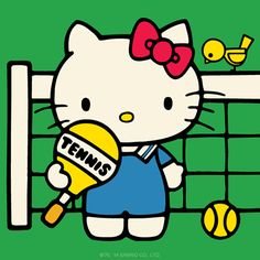 The sun is shining...anyone for tennis?