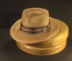 184170e6 This Milan straw with vintage ribbon just finished and picked up today.  #penmanhats #
