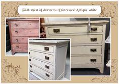 Distressed antique white COD