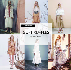 [ TREND REPORT ] WOMENS - SOFT RUFFLES . RESORT 2017