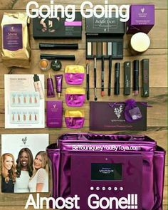GOING...GOING... ALMOST GONE!!  Due to the overwhelming popularity of this amazing new Younique kit, the FREE TABLET is almost gone! Yes that is how AMAZING this kit is!   Due to SO many women recognizing the CRAZY goodness of this deal that quantities are extremely limited.  NOW. $99 and $281 worth of makeup!