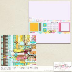 Template freebie from Sugar Fancy Designs #digiscrap #scrapbooking #digifree #scrap #freebie #scrapbook
