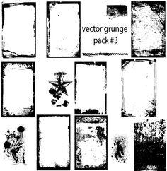 Free Grunge Vector Graphics Illustrator Pack Free Download