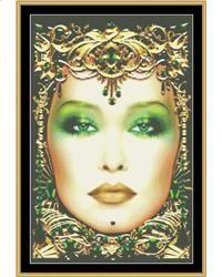 Cross Stitch Craze: Twevle Months of Cross Stitch May - Emerald