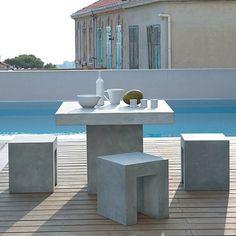 Concrete furniture DecoMag