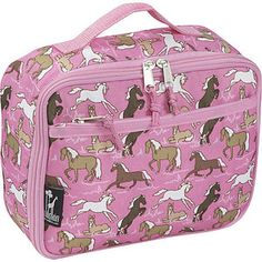 11. Wildkin Horses in Pink Lunch Box - it's the lunch box my girls are wanting #momselect and #backtoschool
