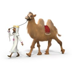 Man & Camel © Lloyds TSB For The Journey campaign 2013