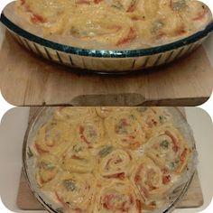 MATRIMONIO IN CUCINA: Torta delle rose con gorgonzola, scamorza, prosciu...