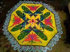 Thaipusam Kolam For Murugar