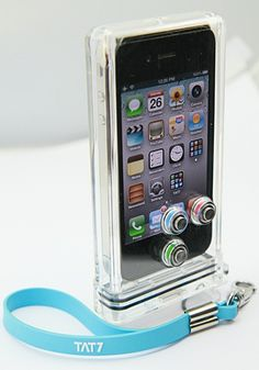 waterproof iPhone case allows you to take pics  video underwater