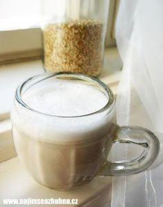 Pohankové mléko Beverages, Drinks, Buckwheat, Vegan Breakfast, Diy Kitchen, Raw Food Recipes, Glass Of Milk, Raw Vegan, Smoothies