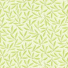 Thibaut Fabric Carmina in Green from the Small Print Resource Volume II Collection. Small tone on tone leaf fabric
