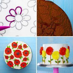 cake decorating videos ~ cake decorating _ cake decorating videos _ cake decorating techniques _ cake decorating for beginners _ cake decorating tips _ cake decorating tutorials _ cake decorating ideas for beginners _ cake decorating videos amazing Cake Decorating Piping, Cake Decorating Videos, Cake Decorating Techniques, Cookie Decorating, Decorating Ideas, Cake Piping Techniques, Cake Decorating Designs, Cake Icing, Eat Cake