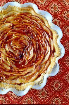 Rosette Apple Pie   Go Go Go Gourmet @gogogogourmet