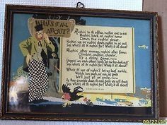 """BUZZA MOTTO - 1925 - """"What's it All About?"""""""