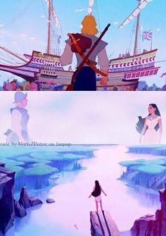 Fan Art of Pocahontas & John Collage -♥- for fans of Disney Princess 30962823 Disney Pixar, Walt Disney Princesses, Disney Pocahontas, Disney Films, Disney And Dreamworks, Disney Art, Princess Pocahontas, Disney Frozen, Animation Film