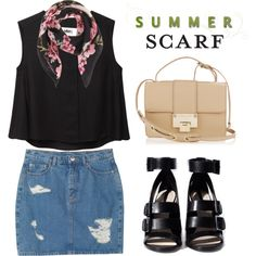 """Summer Scarf"" by ivansyd on Polyvore"