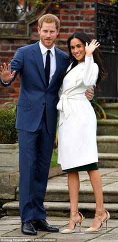 ...Prince Harry, 33, and Meghan Markle, 36, have today revealed they are engaged after the Queen gave her grandson -who is fifth in line to the throne - permission to marry the star. Published 27 November 2017