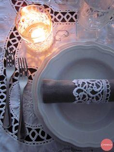 Diy - Una Tavola di Pizzo Bianco