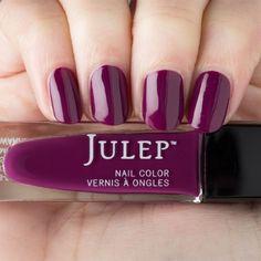 Italian plum creme nail polish
