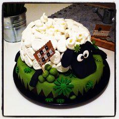 Mine de rien !: Un gâteau mouton ... avec des bonbons !