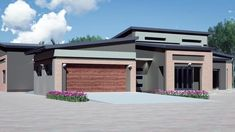 House Plans for Botswana and South Africa, Block 8 Gaborone, Pretoria (2020) Home Design Plans, Plan Design, Roof Design, House Design, Ocean Properties, House Plans South Africa, Kempton Park, Property Development, Pretoria