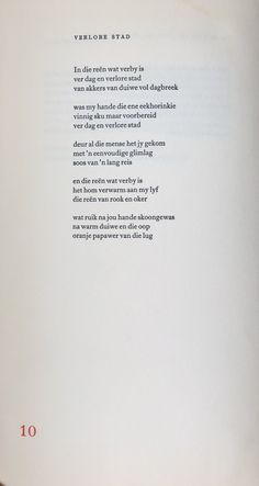 Afrikaanse gedig - Ingrid Jonker, Rook en Oker Rook, Poetry, Quotes, Qoutes, Dating, Poems, Poetry Books, Quotations, Poem